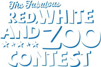 The Fabulous Red, White and Zoo Contest